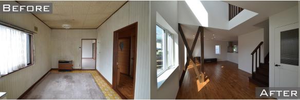新琴似の中古住宅リノベーション